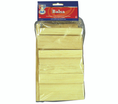 Midwest Products 19 Balsa Wood Econo Bag1/2Bdft