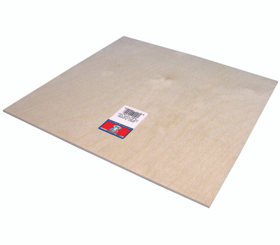 Midwest Products 5305 Plywood Craft 1/8 X12x12in 6Pk