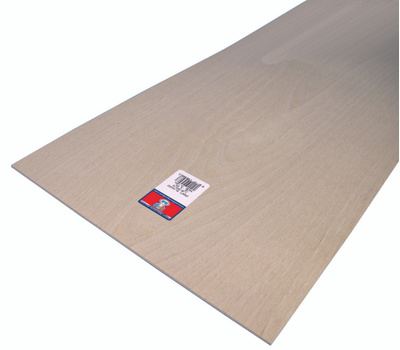 Midwest Products 5306 Plywood Craft 1/8 X12x24in 6Pk