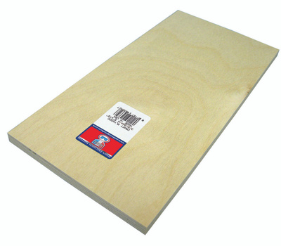 Midwest Products 5324 Plywood Craft 3/8 X 6X12in 3Pk