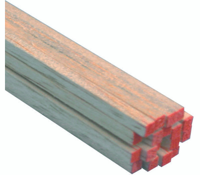 Midwest Products 6044 Balsa Strip 1/8X1/8X36in 36Pk