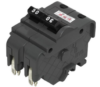 Connecticut Electric VPKUBIF260N Federal Pacific UBI Thick 60 Amp Double Pole Type Na Breaker