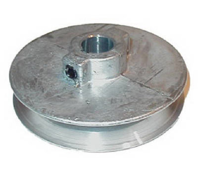 Chicago Die Casting 400A 5 4 By 1/2 Inch Single V Grooved Pulley