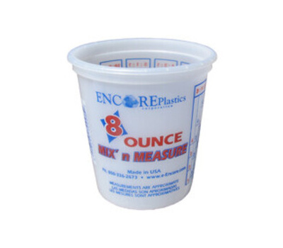 Encore 300338 Container Paint Mixing 8 Ounce