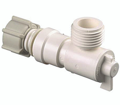 Watts Water P-682 Water Supply Line Angle Valve Quick Connect For Pex 1/2 FIP By 3/4 GH