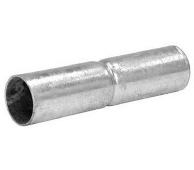 Midwest Air Technology 328592C 1 3/8 By 6 Inch Galvanized Top Rail Sleeve
