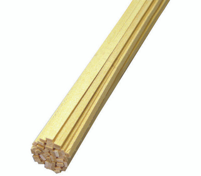 Midwest Products 4025 Basswood Strip 1/16X3/16X24in