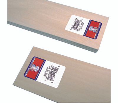 Midwest Products 4302 Basswood Sheet 1/16 X 3 X 24 Inch