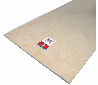 Midwest Products 5316 Plywood Craft 1/4 X12x24in 6Pk