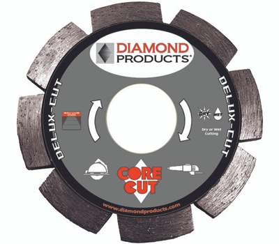 Diamond Products 21072 4-1/2 Inch By.250 Tuck Point Blade