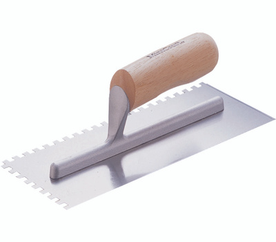 """Vulcan 16110-1/16"""" Square Notch Trowel 4 1/2 By 11 Inch"""