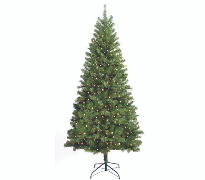 Santas Forest 10770 Tree Douglas 7Ft Clear Ul