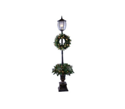 Santas Forest 27570 Post Lamp 7ft