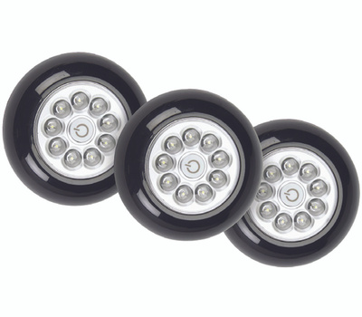 Fulcrum 30016-303 Light 9 Led Xb Anywhere Black