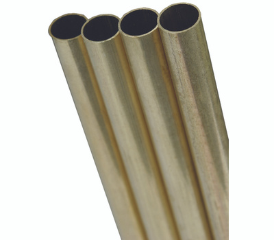K&S Engineering 8132 9/32 Od Round Brass Tube