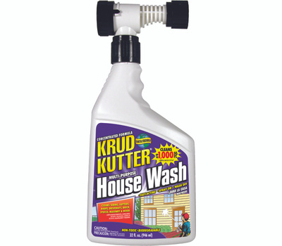 Krud Kutter HW32H4 Concentrated House Wash Spray 32 Ounce Hose End Sprayer