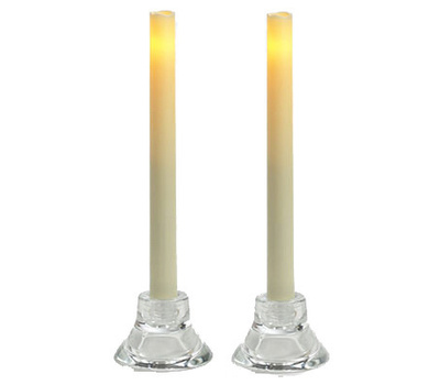 Sterno Home Inc CGT13109CR2 2PK 9 Inch CRM Taper Candle