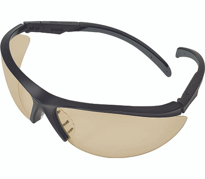 Safety Works 10083064 Essential Adjust Clear/Black Adjustable Safety Glasses Style 1143
