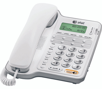 AT&T AT2909/CL2909 Telephone Speaker Call Id/Wait