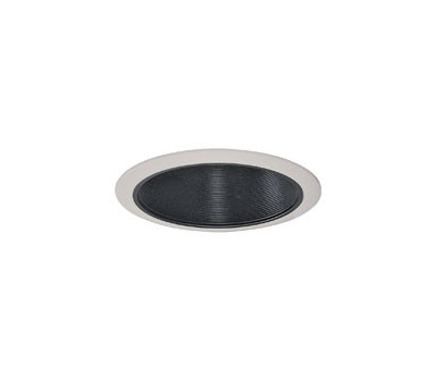 Cooper Lighting 310P Halo 6 Inch Coilex Baffle Recessed Light Fixture Trim  Black