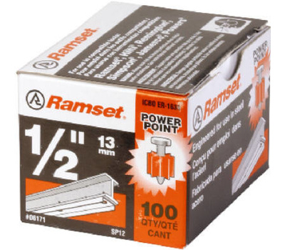ITW Ramset 06171 Drive Pins 1/2 Inch By .300 For Structual Steel 100 Pack