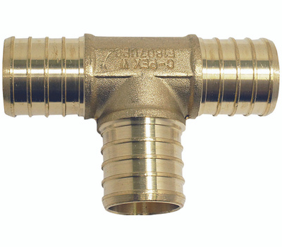 Conbraco APXT11 Apollo Fitting Pex 1 Inch Tee Brass 1 Bag