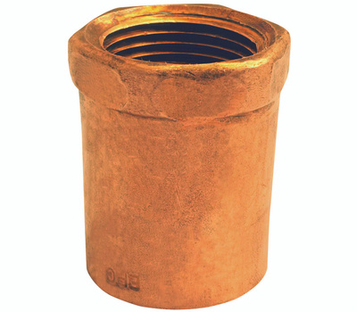 Elkhart 30124 3/8 By 1/2 Inch Copper Female Adapter