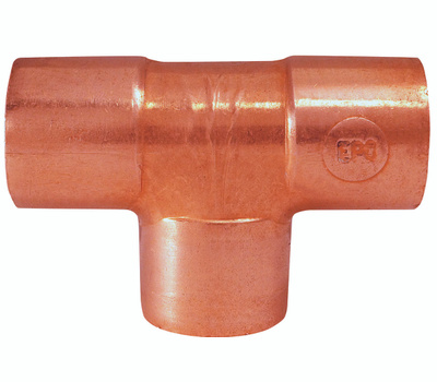 Elkhart 32640 1/4 By 1/4 By 1/4 Copper Tee