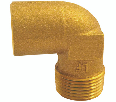 Elkhart 10156826 Lo-Lead 3/4 Inch C X M Copper 90 Degree Elbow