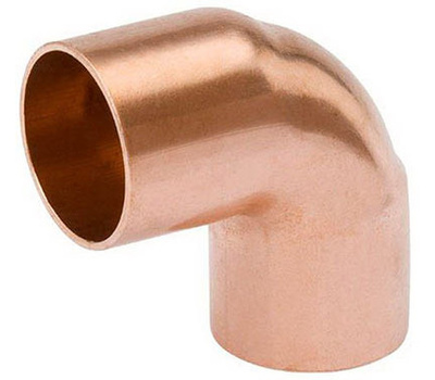 B&K Mueller W 62086 2 Inch Copper 90 Degree Elbow