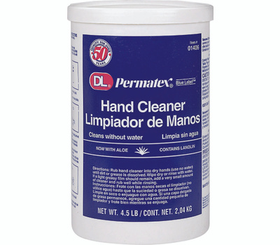 Permatex 01406 DL Blue Label 4 1/2 Pound Cream Hand Cleaner