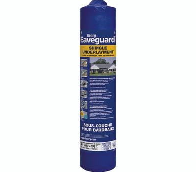 Henry He740916 Eaveguard 3 By 65 Foot Self Adhesive
