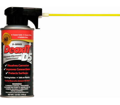 Caig D5S-6 5 Ounce D5 Contact Cleaner