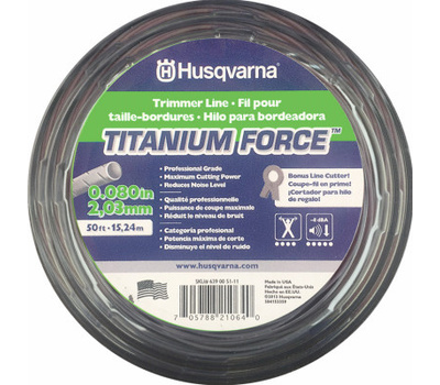 Poulan 639005102 Husqvarna 140 Foot .095 Trimmer Line