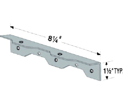 Simpson Strong Tie TA9Z R 9 Inch Staircase Angle Z Max