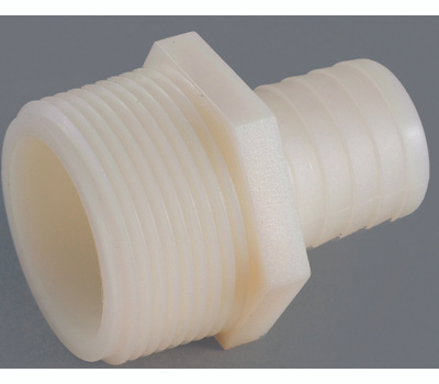 Anderson Metal 53701-1006 3/8 By 5/8 Inch Plastic Tubing Male Adapter