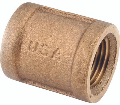 Anderson Metal 738103-20 Coupling Brass 1-1/4Fpt