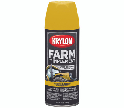 Krylon 1816 Farm & Implement John Deere Yellow Farm And Implement Spray Paint