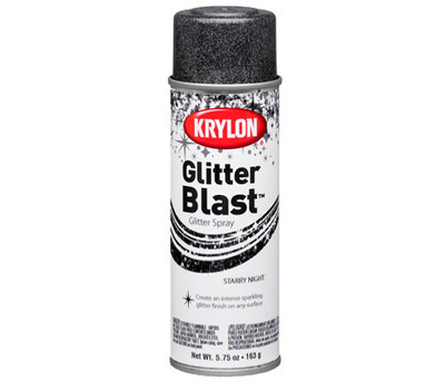 "Krylon K03805A00 ""Glitter Blast"" Spray Paint Starry Night 5.75 Ounce"