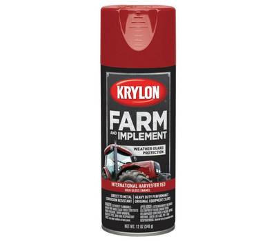Krylon K01933000 Farm & Implement International Harvester Red Spray Paint 12 Ounce