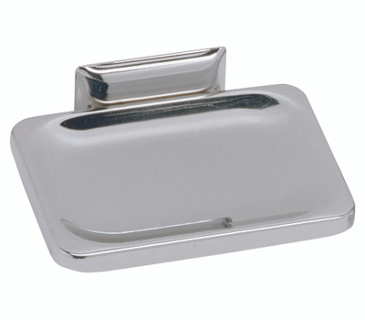 Decko 38000 Basics Chrome Wall Mounted Soap Dish