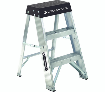 Louisville Ladder AS3002 Ladder Stp Al Typ1a 300 Pound 2Ft