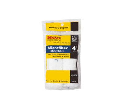 Whizz 74018 Roller Microfiber 4in X 3/4in