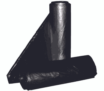 Aluf Plastics RCT-60X 55 To 60 Gallon Commercial Can Liners - T-Tough Roll Pack - Low Density
