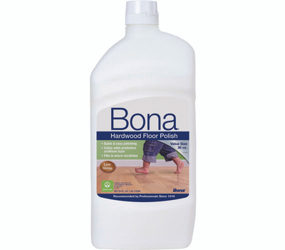 Bona Kemi WP500359001 Hardwood Floor Polish Low Gloss 36 Ounce