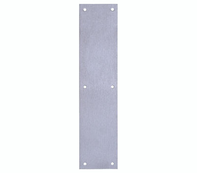 Tell DT100072 3-1/2 By 15 Stainless Steel Push Plate
