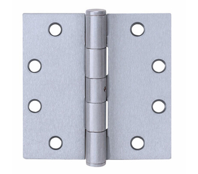 Tell HG100315 4-1/2 Inch Door Hinge Stainless Steel Removable Pin