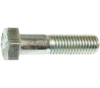 Midwest Fastener 53390 Grade 5 Hex Cap Screws 5/8 Inch 11 TPI By 2-1/2 Inch Zinc Plated Steel 15 Pack