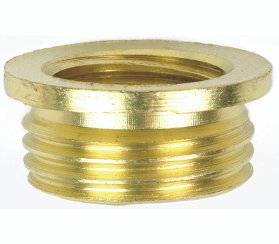 Jandorf 60146 Nipple Reducer Connects 1/4 Male To 1/8 Female Brass Finish