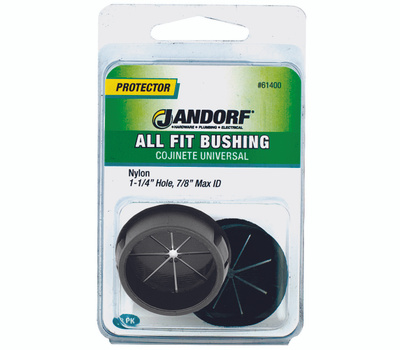 Jandorf 61400 All Fit Nylon Electrical Bushing Fits All 1-1/4 By 7/8